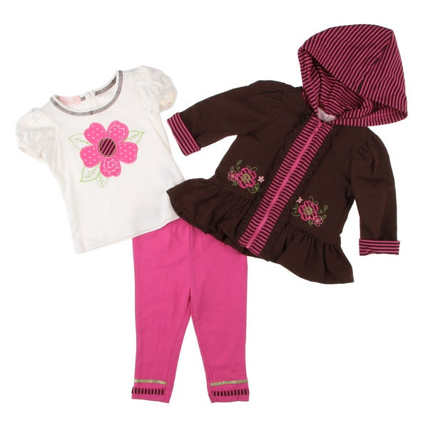 Kids Headquarters Infant Girl's 3-piece Set
