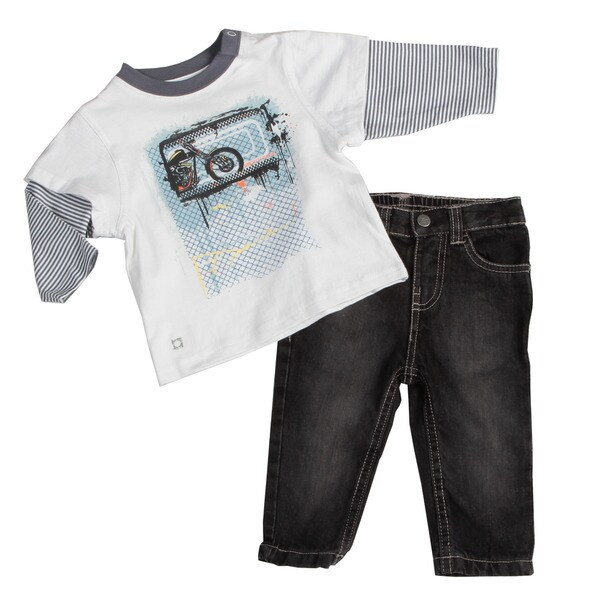 Kenneth Cole Infant Boys 2-piece Set