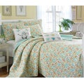 Laura Ashley Jaynie 3-piece Full/Queen-size Quilt Set