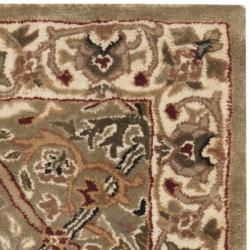 Safavieh Handmade Persian Legend Light Green/ Beige Wool Rug (2' x 3')