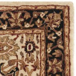 Safavieh Handmade Persian Legend Ivory/ Black Wool Rug (2'6 x 4')