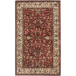 Safavieh Handmade Persian Legend Red/ Ivory Wool Rug (3' x 5')