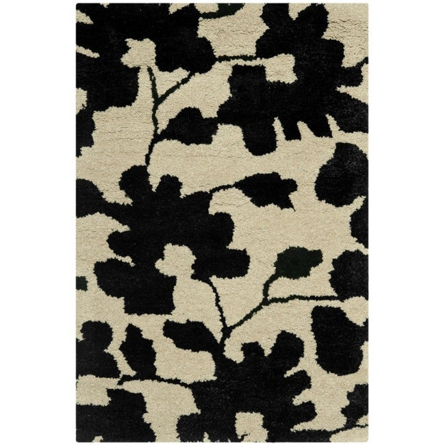 Safavieh Handmade Shadows Beige New Zealand Wool Area Rug (2' x 3')