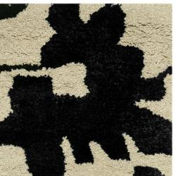 Handmade Shadows Beige New Zealand Wool Area Rug (2' x 3')