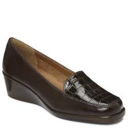 A2 by Aerosoles Tempting Dark Brown Wedge