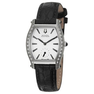 Bulova Accutron Women's 'Saleya' Stainless Steel Swiss Quartz Watch
