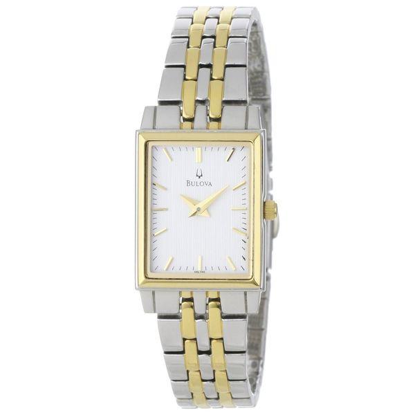 Bulova Women's 'Dress' Yellow Goldplated Quartz Watch