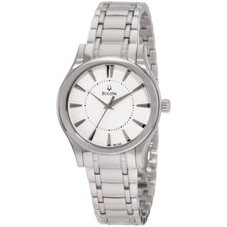 Bulova Women's 'Dress' Stainless Steel Quartz Watch