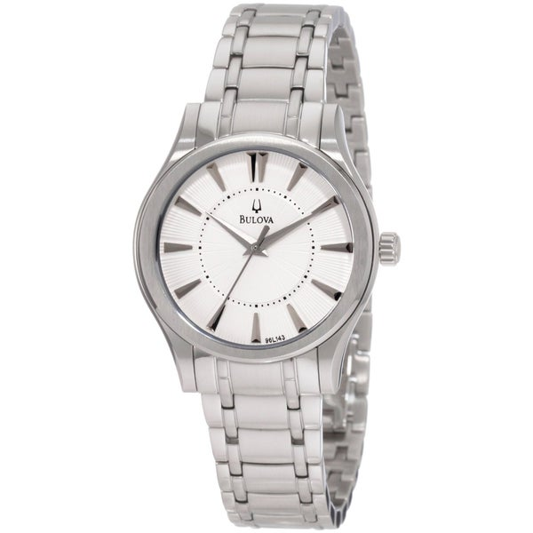 Bulova Women's 96L143 'Dress' Stainless Steel Quartz Watch