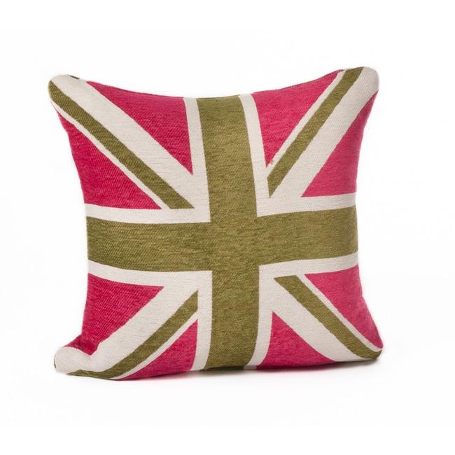 Union Jack 18-inch Throw Pillow