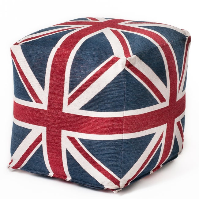 Union Jack 18-inch Cubed Beanbag