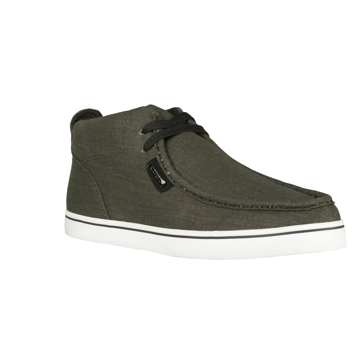 Lugz 'Strider' Charcoal Chambray Casual Boots