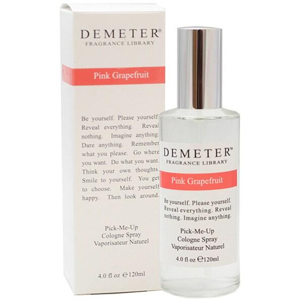 Demeter Women's Fragrance Pink Grapefruit 4-ounce Cologne Spray