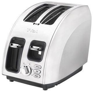 T-fal Avante Brushed Stainless Steel 2-slice Icon Cooking Core High Speed Toaster