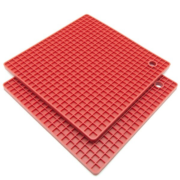 Freshware Silicone Honeycomb Pot Holders/ Trivets (Set of 2) 9360986