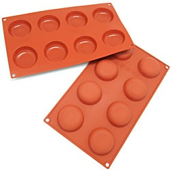 Freshware 8-cavity Silicone Mold and Baking Pan