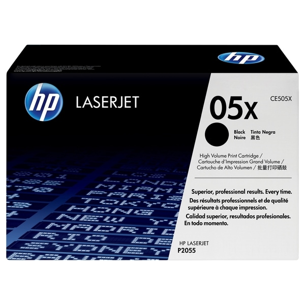 HP CE505XC High Yield Black Contract Original LaserJet Toner Cartridg