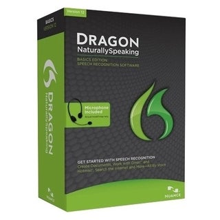Nuance Dragon NaturallySpeaking v.12.0 Basic - Complete Product - 1 U
