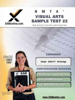 Nmta Visual Arts Sample Test 22 (Paperback)