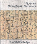 Egyptian Hieroglyphic Dictionary (Paperback)