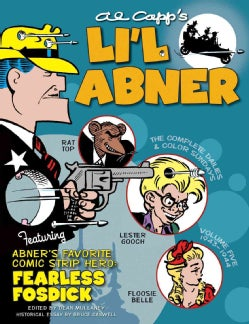 Li'l Abner 5: Complete Daily & Sunday Comics 1943-1944 (Hardcover)