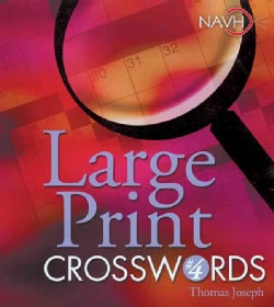 Large Print Crosswords 4 (Paperback)