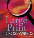 Large Print Crosswords 4 (Spiral bound)