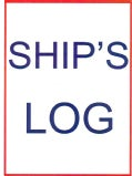 Ship's Log Book (Spiral bound)