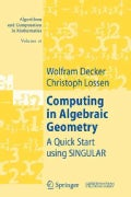 Computing in Algebraic Geometry: A Quick Start Using Singular (Paperback)