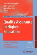 Quality Assurance in Higher Education: Trends in Regulation, Translation and Transformation (Paperback)