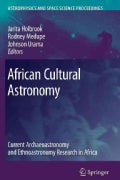 African Cultural Astronomy: Current Archaeoastronomy and Ethnoastronomy Research in Africa (Paperback)