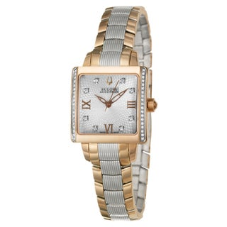 Bulova Accutron Women's 'Masella' Rose-gold Watch