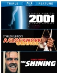 2001: A Space Odyssey/A Clockwork Orange/The Shining (Blu-ray Disc)