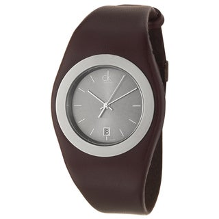 Calvin Klein Women's Water-Resistant Stainless-Steel Logo Watch