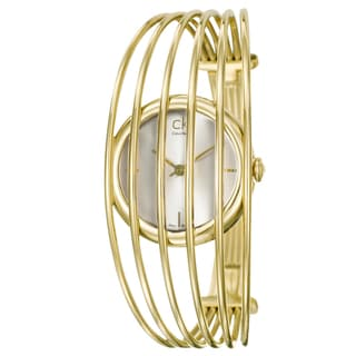 Calvin Klein Women's 'Fly' Goldplated Watch