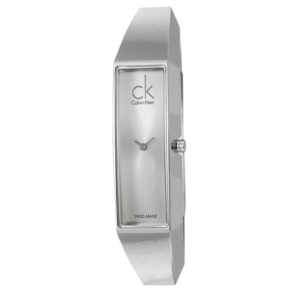 Calvin Klein Women's 'Section' Stainless-Steel Swiss Quartz Watch