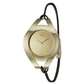 Calvin Klein Women's 'Sophistication' Gold-plated Watch