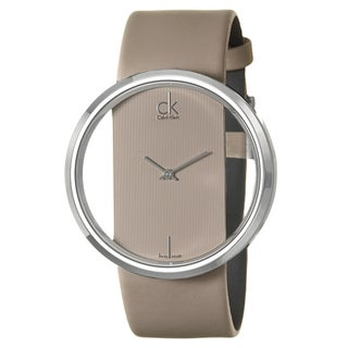 Calvin Klein Women's 'Glam' Stainless Steel Watch
