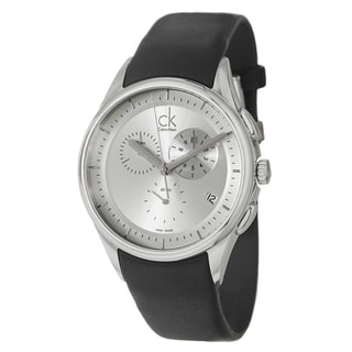 Calvin Klein Men's 'Basic' Stainless-Steel Swiss-Quartz Watch