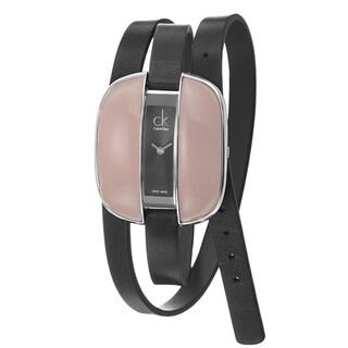 Calvin Klein Women's 'Treasure' Stainless-Steel Swiss Quartz Watch