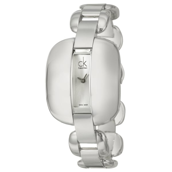 Calvin Klein Women's 'Treasure' Stainless-Steel Mineral Crystal Watch