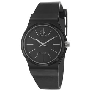 Calvin Klein Men's 'Layers' Black PVD Coated Watch