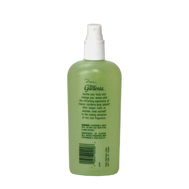 Dana Classic Gardenia Women's 8-ounce Body Cologne Spray (Unboxed)