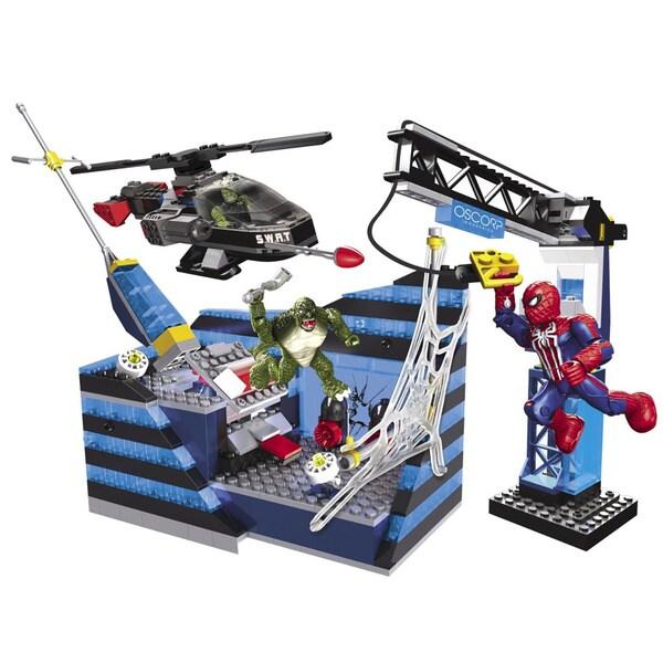 Mega Bloks Amazing Spider-Man Oscorp Tower Battle Playset
