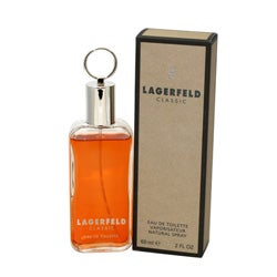 Karl Lagerfeld 'Lagerfeld' Men's 2-ounce Eau de Toilette Spray