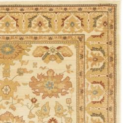 Safavieh Oushak Cream Powerloomed Rug (8' x 11')