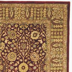 Safavieh Handmade Persian Legend Red/ Light Brown Wool Rug (7'6 x 9'6)