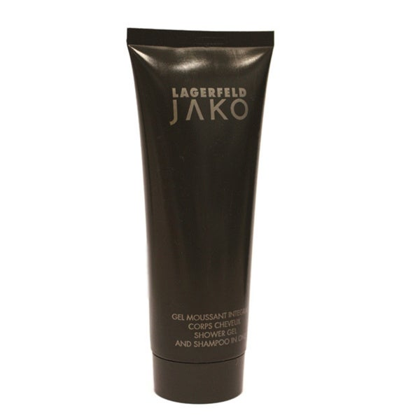 Karl Lagerfeld Jako Men's 3.3-ounce 2-in-1 Shower Gel and Shampoo