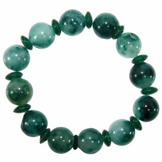Elastic Jade Beads Bracelet (China)