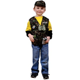 Dress Up America Kids' 'Military Forces' Role Play Dress Up Set